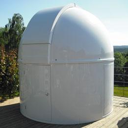 Pulsar Observatories 2.7m Full Height Dome