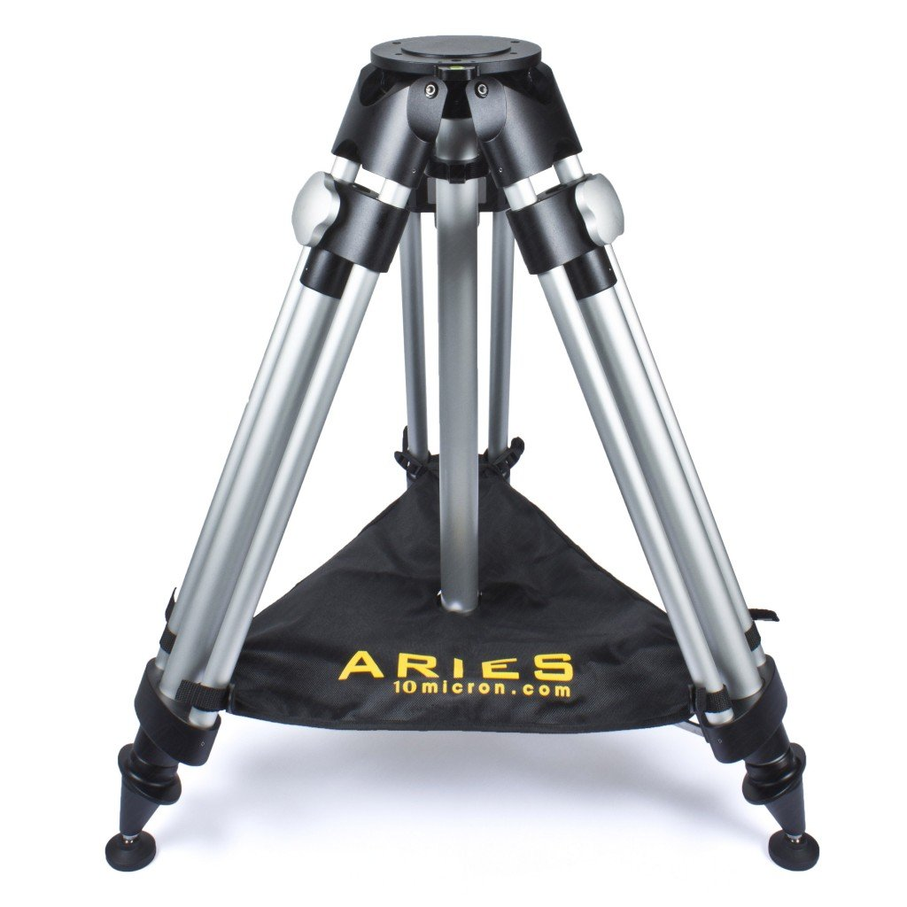 10Micron Aries Tripod with upholstered Cordura transport-bag