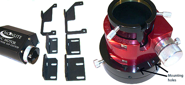 MoonLite Motor Attachment Bracket