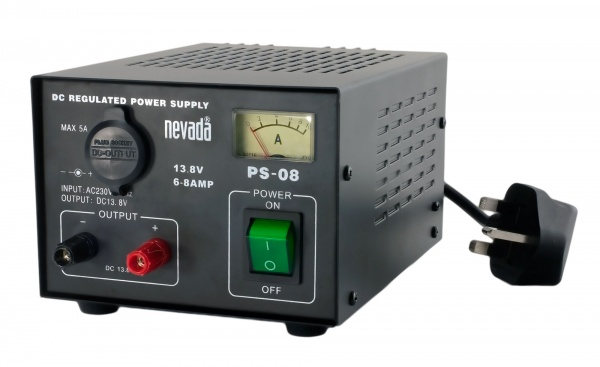 Nevada PS-08 6-8A Regulated Linear Power Supply